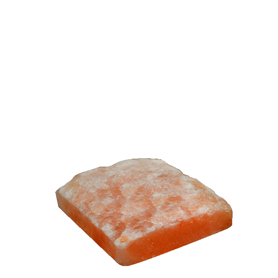 one side natural himalayan rock salt tile for salt wall construction